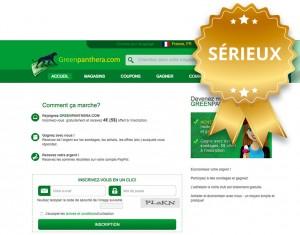 greenpanthera.com sondage remuneré avis