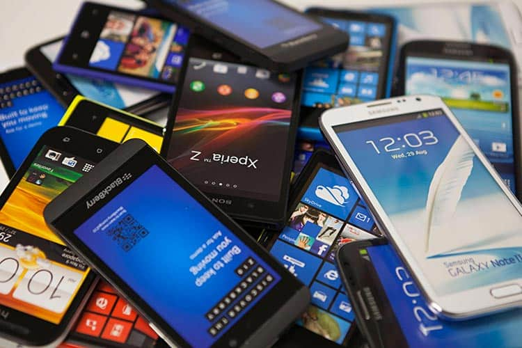 recyclez votre vieux telephone portable