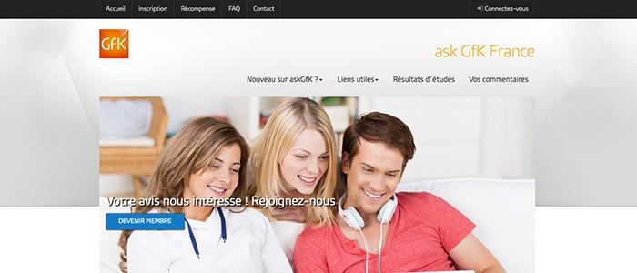 askGfk, de l'argent directement sur votre compte bancaire !