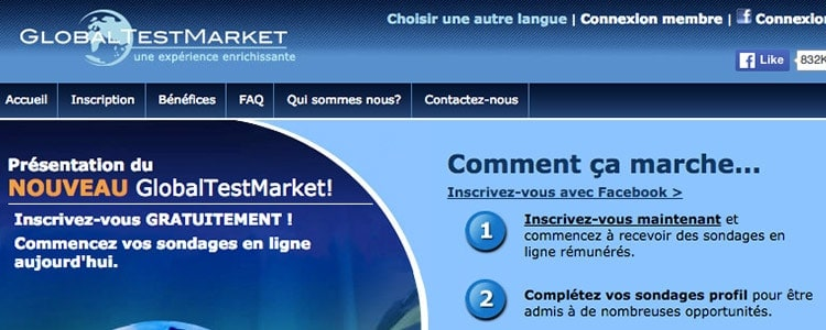 globaltestmarket inscription